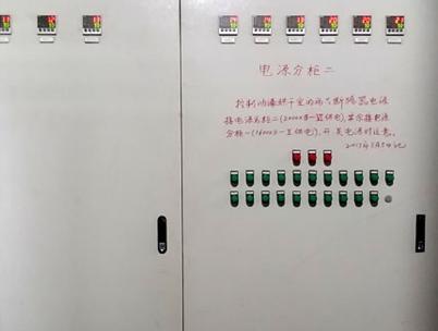 自行葫芦面漆输送线电器柜